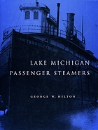 Lake Michigan passenger steamers