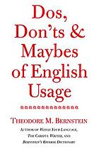 Dos, don'ts & maybes of English usage