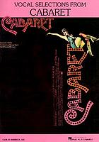 Vocal selections from Cabaret
