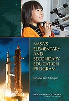 NASA's elementary and secondary education program review and critique