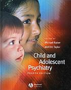 Child and adolescent psychiatry : modern approaches