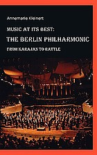 Berliner Philharmoniker : von Karajan bis Rattle