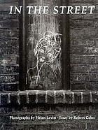 In the street : chalk drawings and messages, New York City, 1938-1948