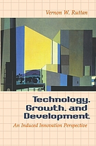 Technology, growth, and development : an induced innovation perspective