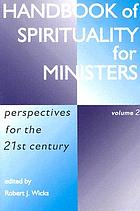 Handbook of spirituality for ministers