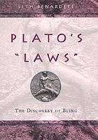 "Plato's ""Laws"" : the discovery of being"