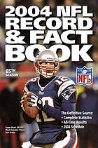 The official 2004 National Football League record & fact book