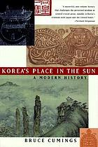 Korea's place in the sun : a modern history