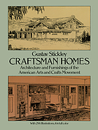 Craftsman homes : architecture and furnishings of the American arts and crafts movement