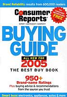 Consumer Reports buying guide : best buys for 2008