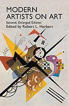 Modern artists on art; ten unabridged essays