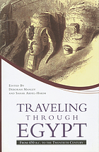 Traveling through Egypt : from 450 B.C. to the twentieth century