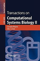 Transactions on computational systems biology II Transactions on Computational Systems Biology II