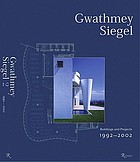 Gwathmey Siegel : buildings and projects 1965-2000