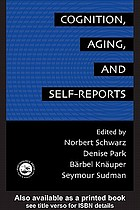 Cognition, aging, and self-reports