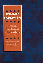 Ethnic identity : cultural continuities and change
