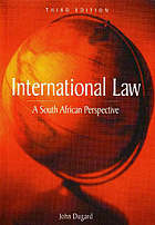 International law : a South African perspective