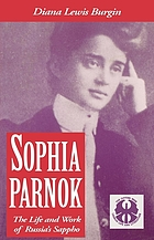 Sophia Parnok the life and work of Russia's Sappho