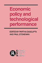 Economic policy and technological performance