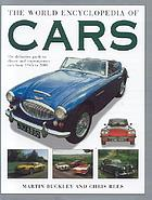 The world encyclopedia of cars : the definitive guide to classic and contemporary cars from 1945 to 2000