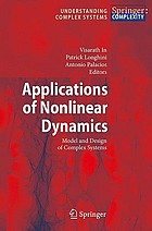 Applications of nonlinear dynamics model and design of complex systems