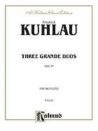 3 grands duos : opus 39, for two flutes