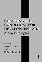 Changing the conditions for development aid : a new paradigm?