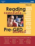 Reading essentials for the pre-GED student