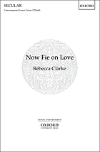 Now fie on love : for unaccompanied lower voices (TTBarB)