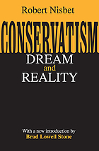 Conservatism : dream and reality