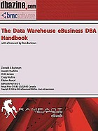 The data warehouse ebusiness DBA handbook