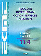 Report of the hundred and fourteenth Round Table on Transport Economics, held in Paris on 11th-12th March 1999 on the following topic : regular interurban coach services in Europe