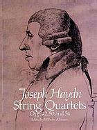 String quartets opp. 42, 50, and 54