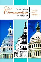 Varieties of conservatism in America