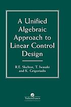 A unified algebraic approach to linear control design