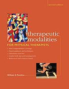 Therapeutic modalities for physical therapists