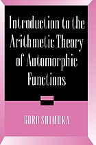 Introduction to the arithmetic theory of automorphic functions