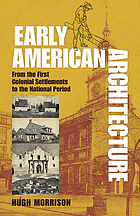 Early American architecture, from the first colonial settlements to the National Period