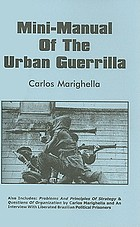 Manual of the urban guerrilla