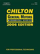 Chilton General Motors mechanical service