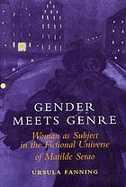 Gender meets genre : women as subject in the fictional universe of Matilde Serao