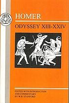 Odyssey : books XIII-XXIV