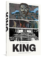 King : a comic book biography
