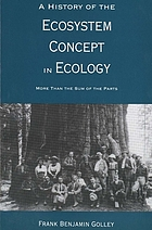 A history of the ecosystem concept in ecology : more than the sum of the parts