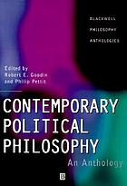 Contemporary political philosophy : an anthology