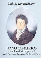Concerto no. IV for the piano, op. 58