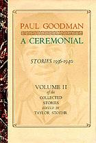 A ceremonial, stories, 1936-1940
