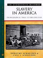 Slavery in America : from colonial times to the Civil War : an eyewitness history