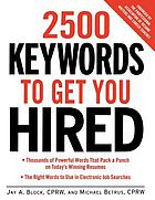 2500 keywords to get you hired