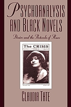 Desire and the protocols of race : Black novels and psychoanalysis